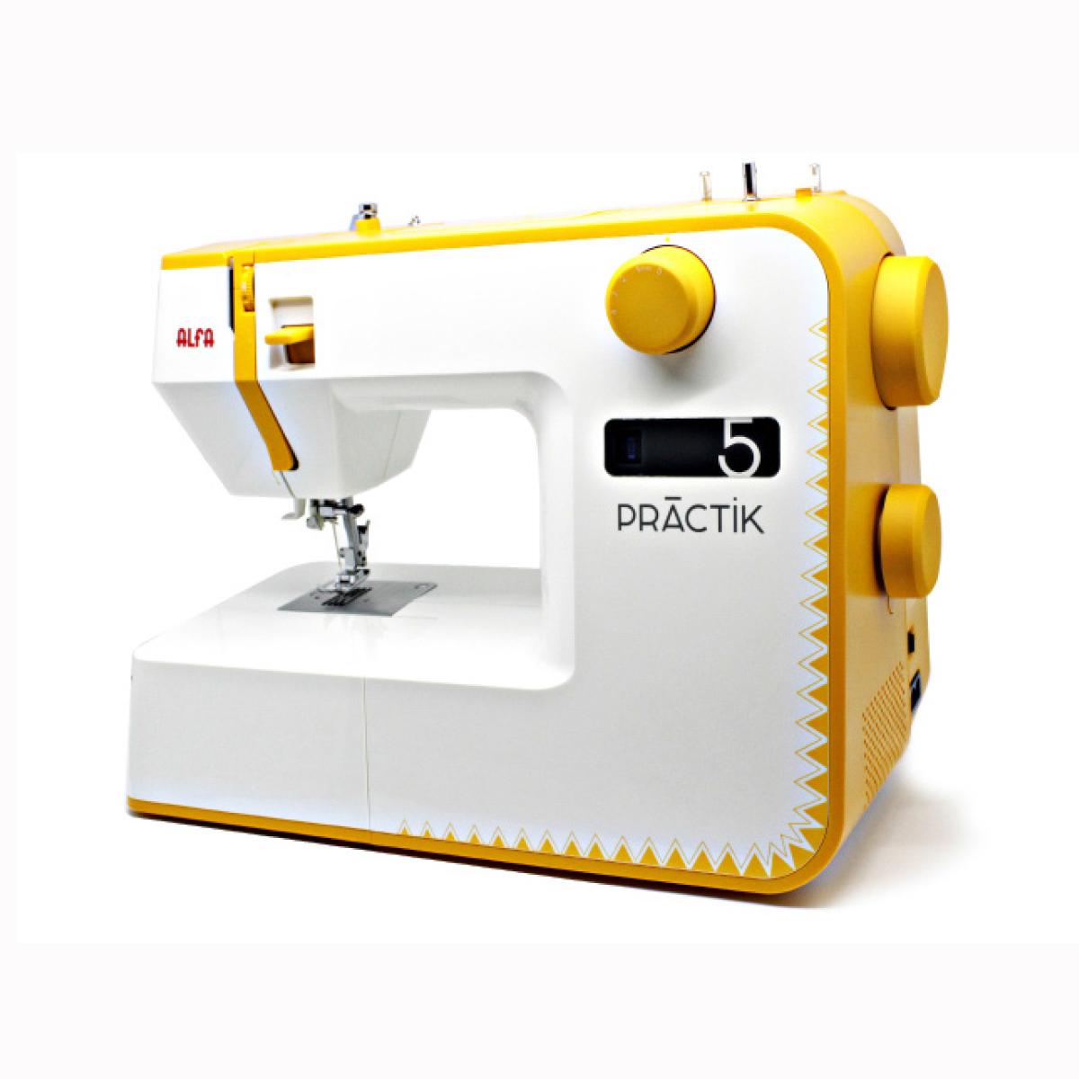 Maquina de coser PRACTIK 5 | Alfa - Mercerlob
